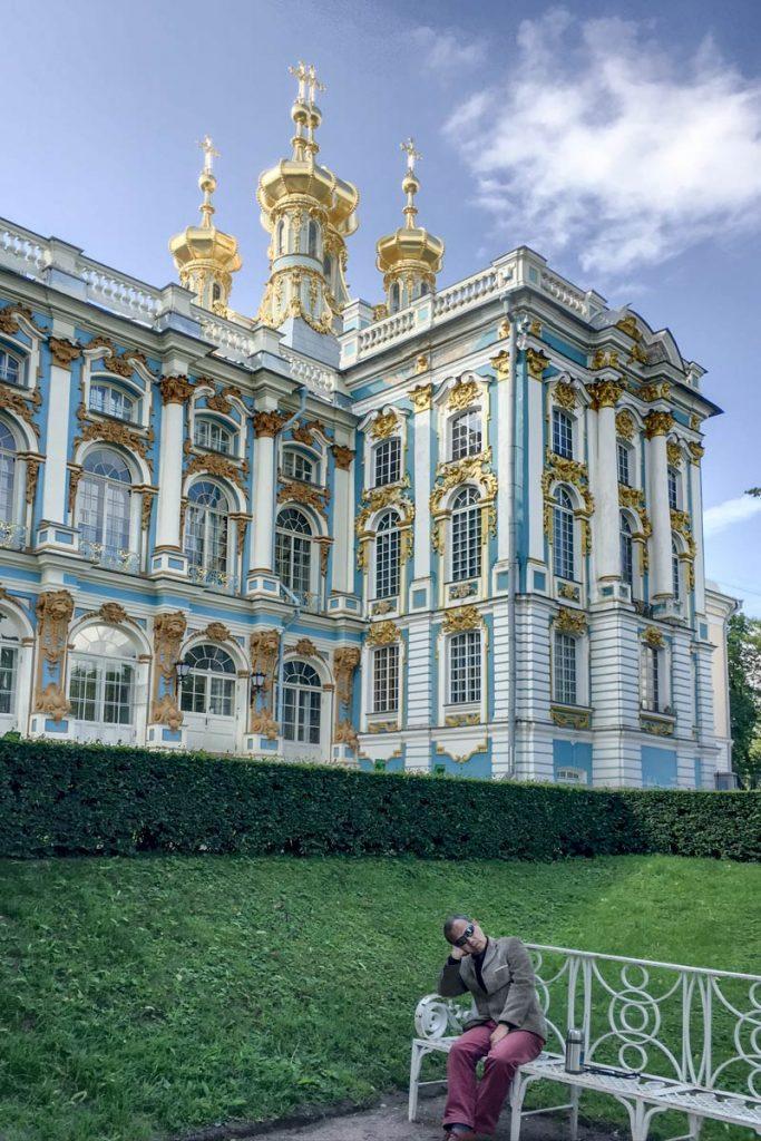 Tsarskoye Selo outside Saint Petersburg