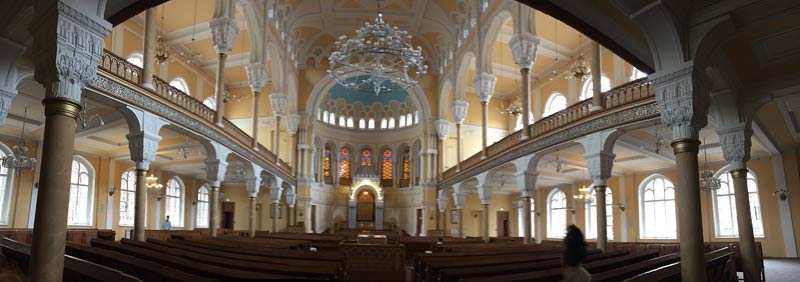 The Great Choral Synagogue in Saint Petersburg