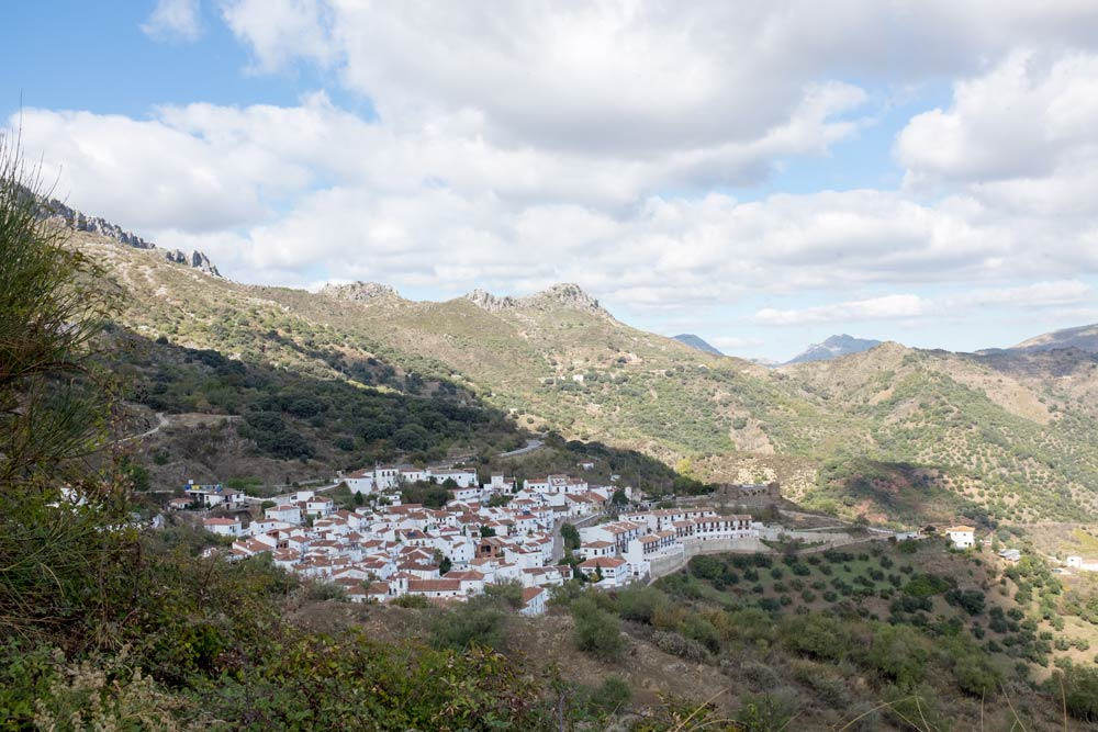The White Towns on the road from Ronda to Malaga in Andalusia.