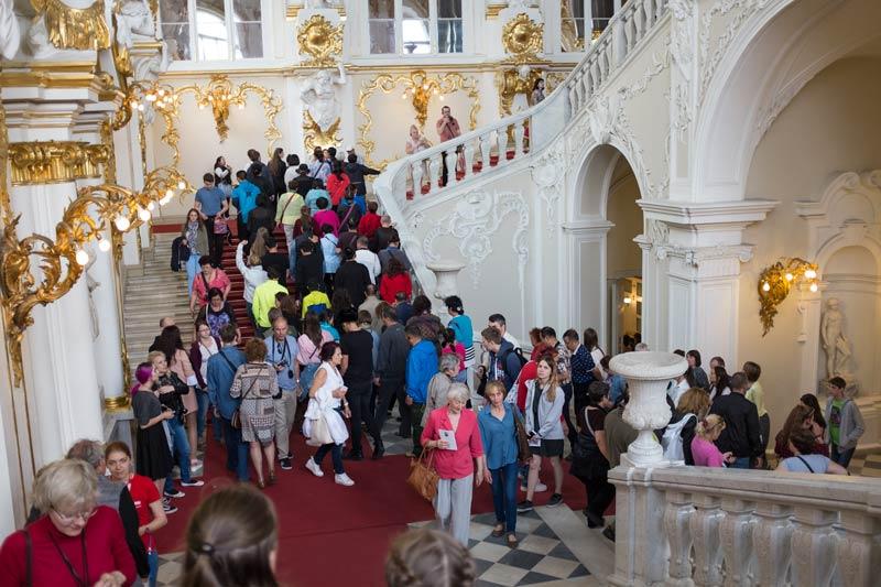 Jordan Steps in the Winter Palace in Saint Petersburg