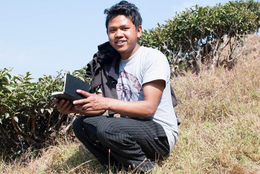 Bishal Rai, our guide to the tea pickers