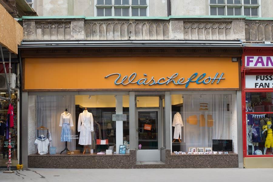 Wascherflott clothes shop in Vienna