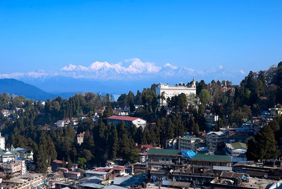 Katchenjunga in the Himalayas